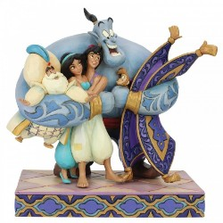 Aladdin Group Hug - Traditions Enesco Figurine